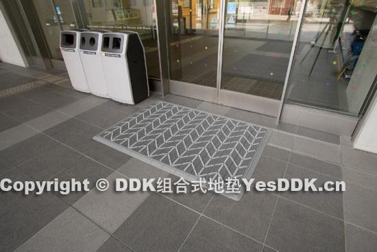 DDK办公楼除尘门垫-DDK写字楼除尘门垫-DDK门外防滑地垫-DDK三合一地垫门垫