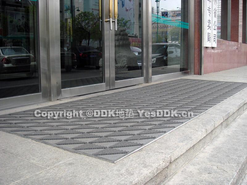 商务楼门口防滑地垫-DDK组合式除尘防滑毛刷地垫